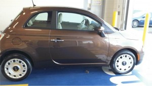 fiat 500 pop poop colored
