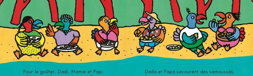 Revoilà Ludo le Dodo…à la plage