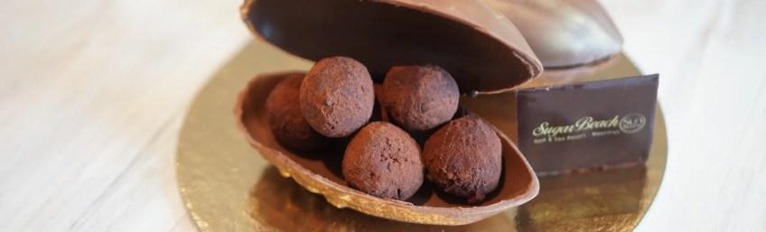 Pâques : les Œufs truffes de Sandy Scioli