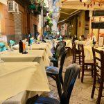 """【イタリア観光】《パレルモ》ランチはオロロージョ通りの""""La Tavernetta Del Vicoletto""""で!"""