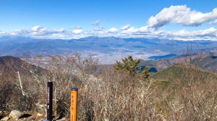 【東京から日帰り登山】すずらん群生地が有名!富士山が一望できる山梨の釈迦ヶ岳!アクセスは?