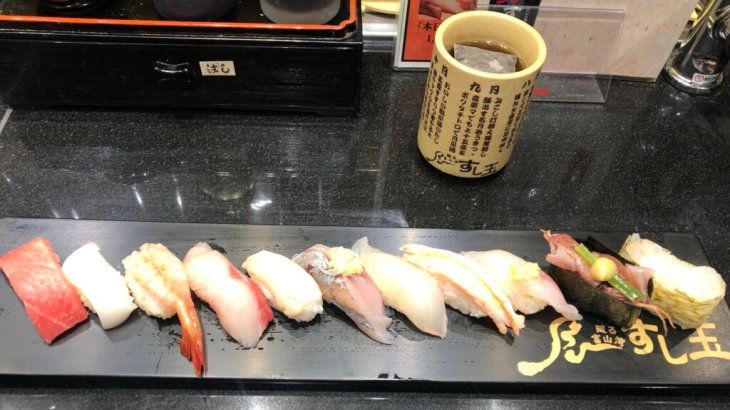 """【富山】白えびが食べられる!富山駅前にあるお寿司屋さん""""廻る富山湾すし玉""""!テイクアウトもできる!"""
