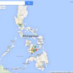 Itinéraire et points d'intérêt aux Philippines