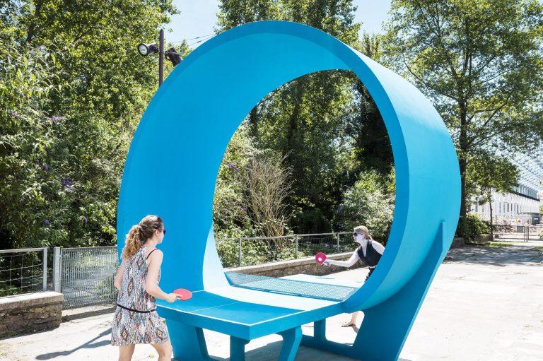 Ping-pong park (Loop) © Franck Tomps