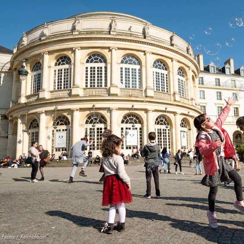 walking tour of Rennes