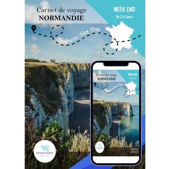 Carnet de voyage Van Trip Normandie