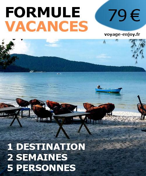 Travel planner vacances