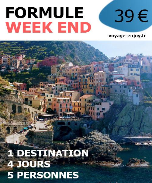 Travel planner week end