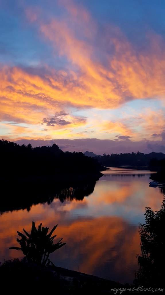 Colombie, Guatapé, guest house, chambre d'hôtes, lac, Peñon