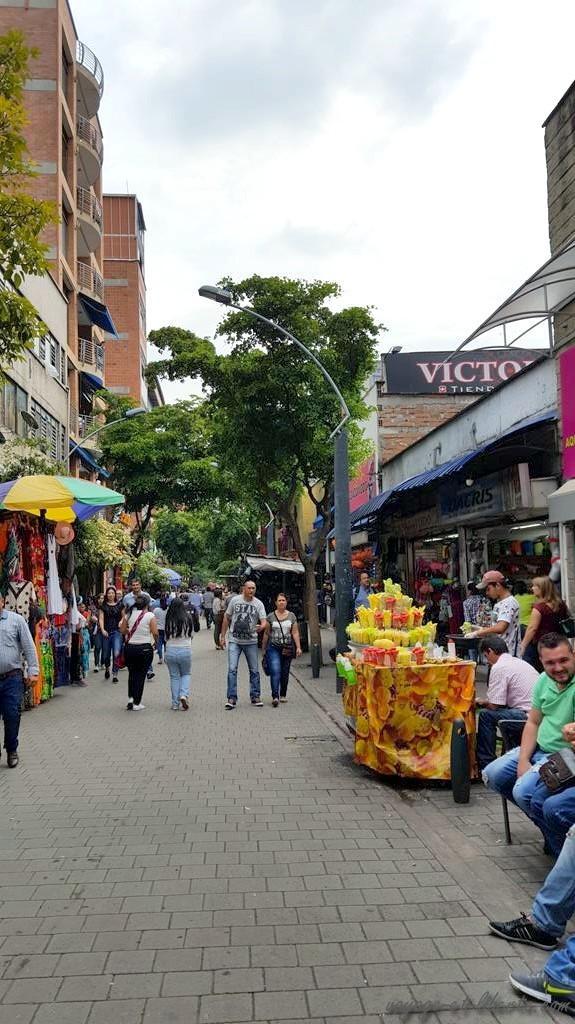 paseo peatonal Carabobo