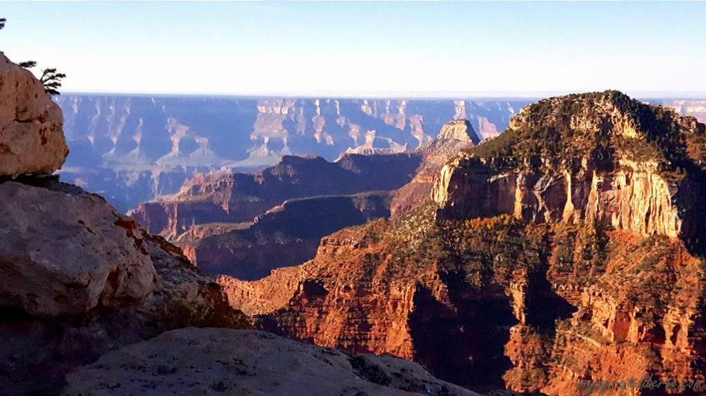 USA, Grand Canyon, north face