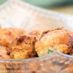 Croquettes de pommes de terre aux sardines