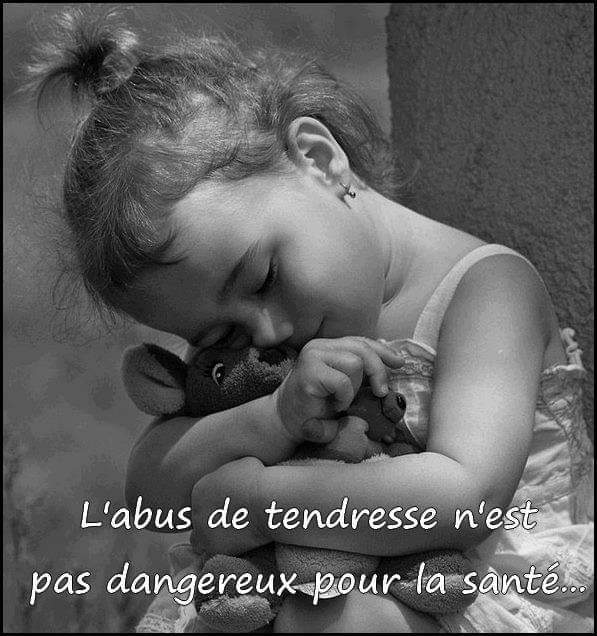 photographie tendresse enfant fillette citation