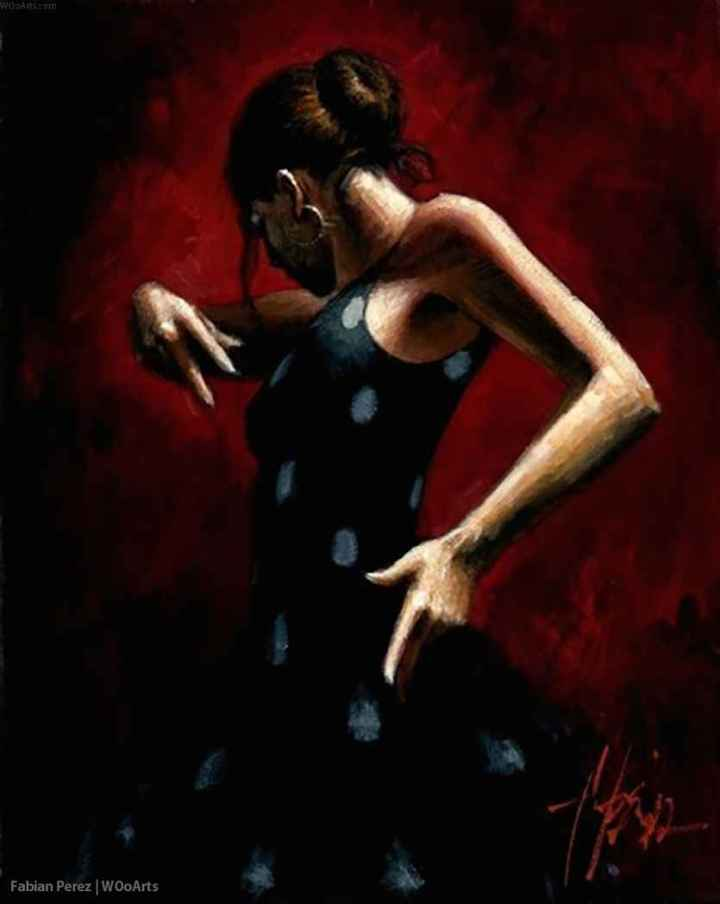 photo image danse femme peinture peintre illustrateur artiste art