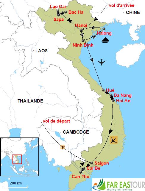 Circuit Sur Mesure Au Vietnam 15 Jours Fareastour