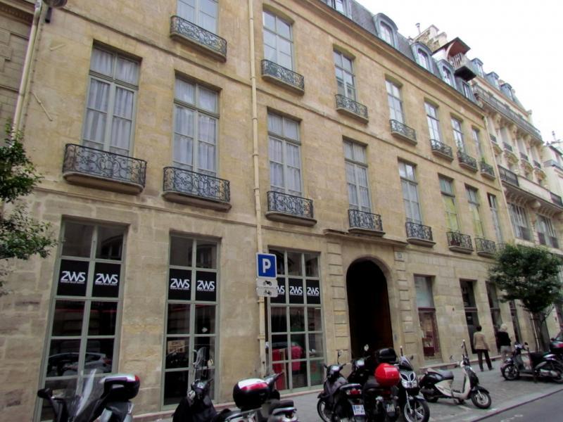Hôtel Dupin, rue Jean-Jacques Rousseau, Paris