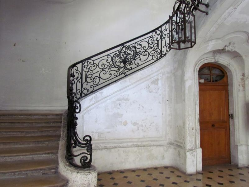 Escalier d'honneur, hôtel Dupin, rue Jean-Jacques Rousseau, Paris