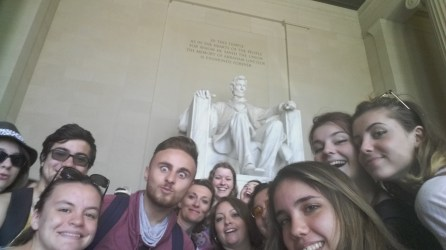 Selfie with Lincoln