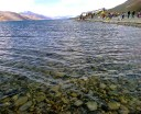 Crystalline water of Pangong Tso