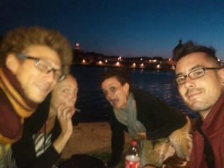 Un week end de bord de Garonne à Toulouse chez Titane et Nat