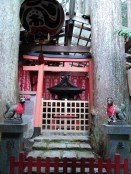 Les kitsune gardiens du sanctuaire