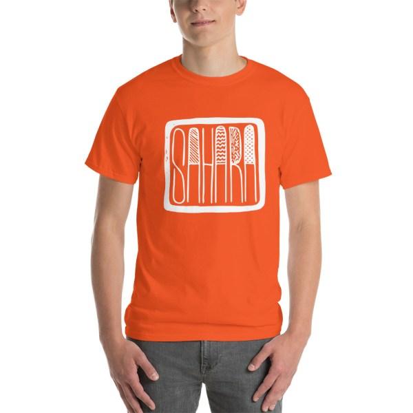 T-shirt SAHARA orange pour homme