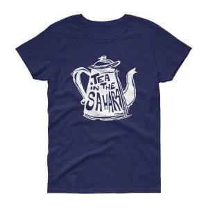 T-shirt femme TEA IN THE SAHARA, manches courtes