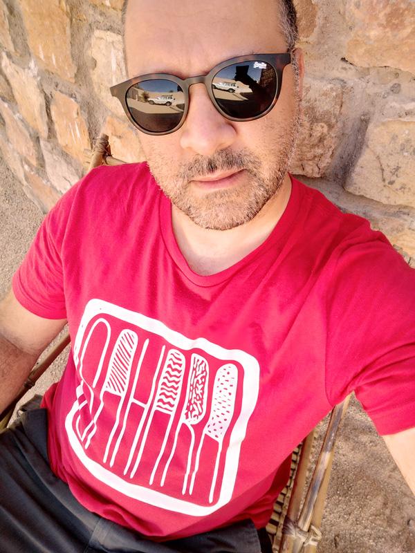 Tee-shirt SAHARA rouge pour homme