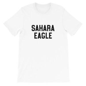 SAHARA EAGLE – T-shirt blanc homme ou femme