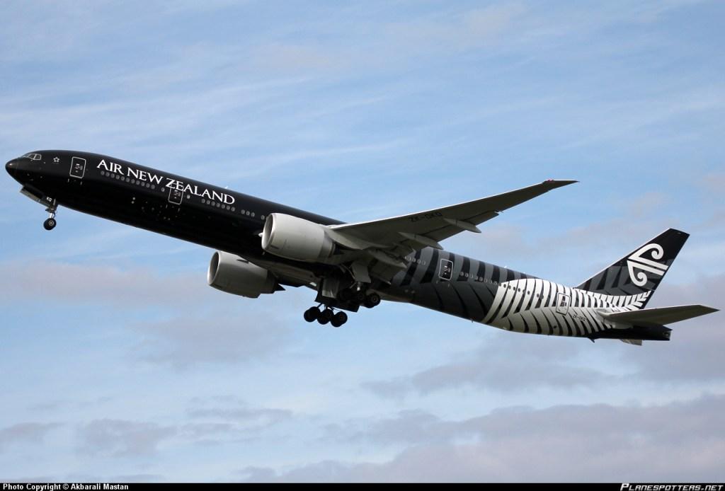 ニュージーランド航空(NZ)の以遠権フライト