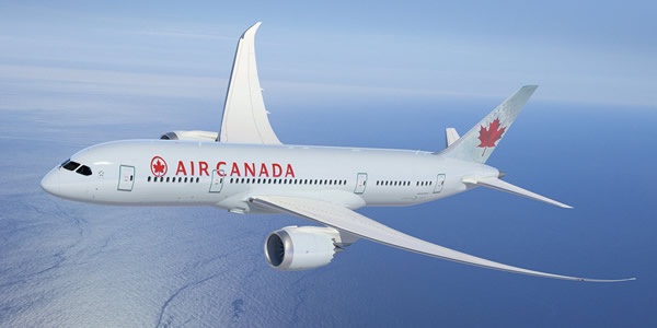 Fifth Freedom Flights : Air Canada(AC)