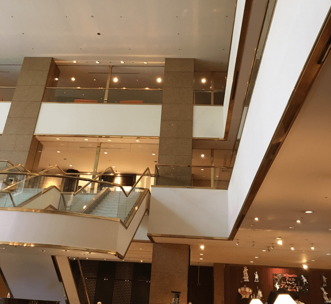 Hotel review : Hilton Nagoya (cafe The Gallery)