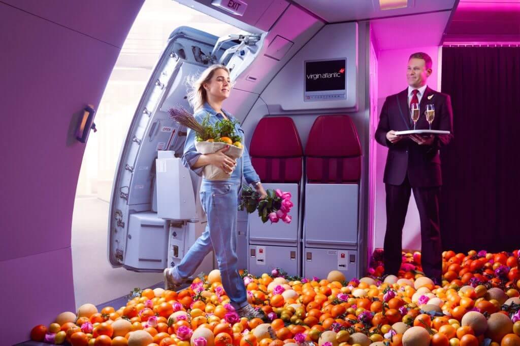 ヴァージン・アトランティック航空(VS)の新しい「機内の香り」