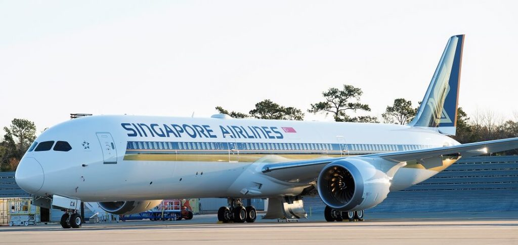 シンガポール航空(SQ)のボーイング787-10就航路線まとめ(2018年6月版、名古屋(NGO)にもやってくる!)