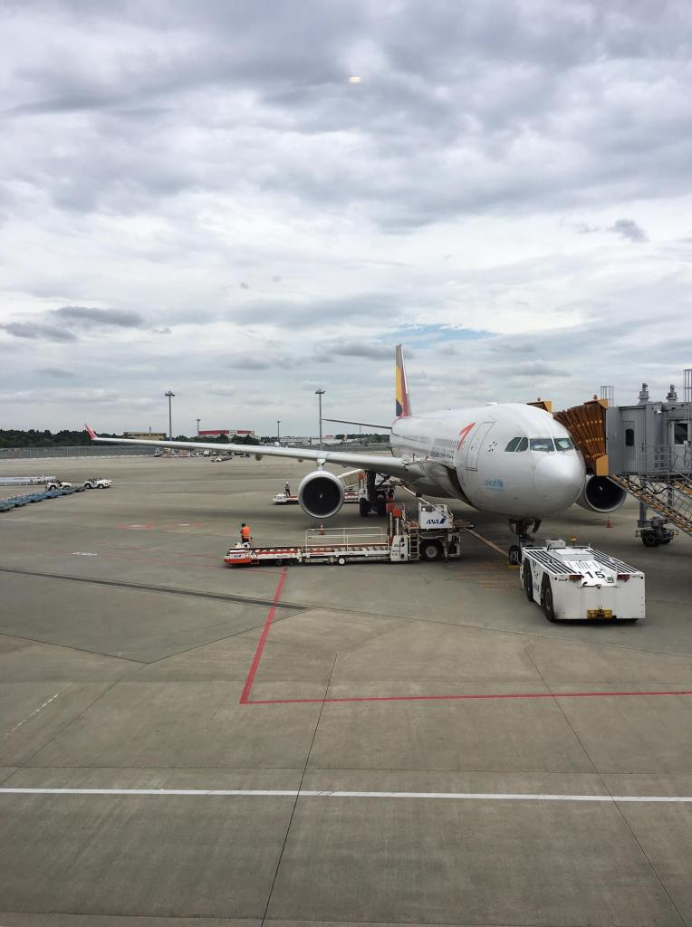 Business Class Review : OZ101(NRT – ICN)
