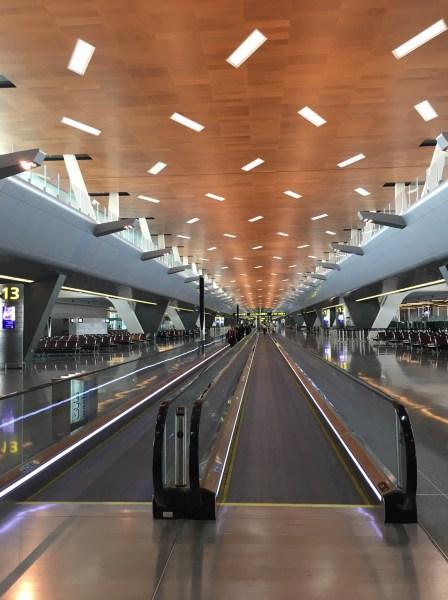 ドーハ・ハマド国際空港(DOH)のWifiスピードチェック