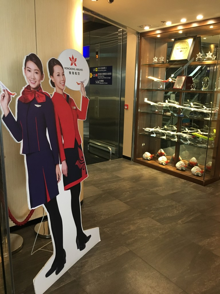 香港航空(HX)紫荊堂ラウンジ「Club Bauhinia」のWifiスピードチェック
