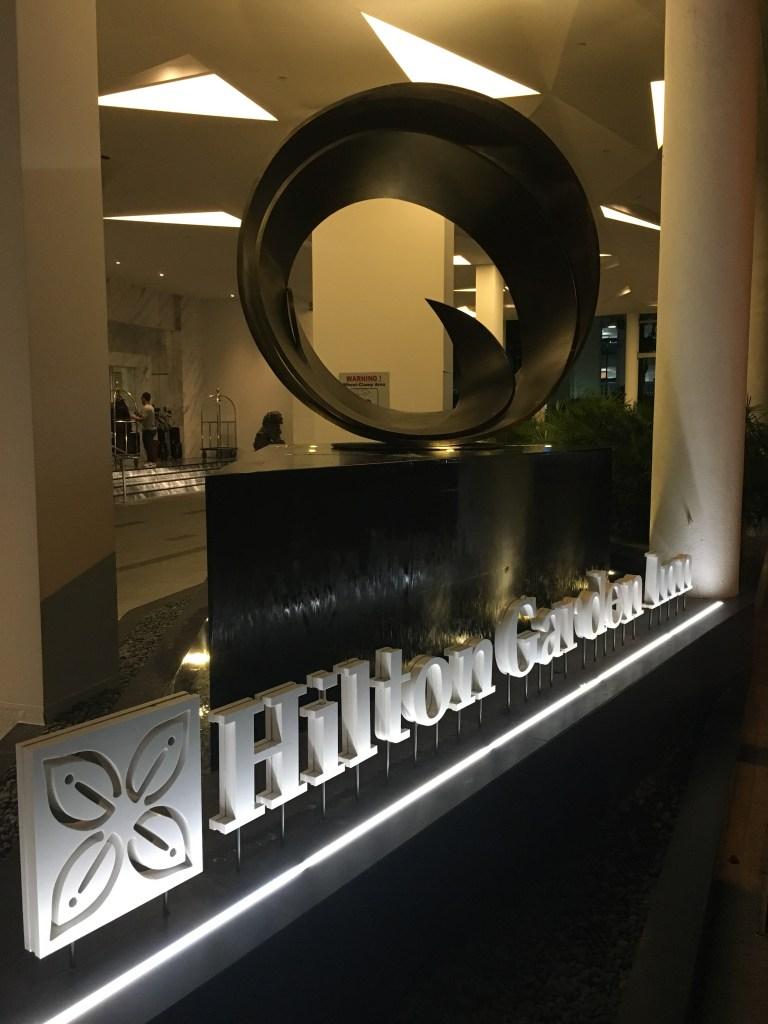 ヒルトン・ダイヤモンドステータスチャレンジ#1(ヒルトンガーデンイン シンガポール セラングーン(Hilton Garden Inn Singapore Serangoon))