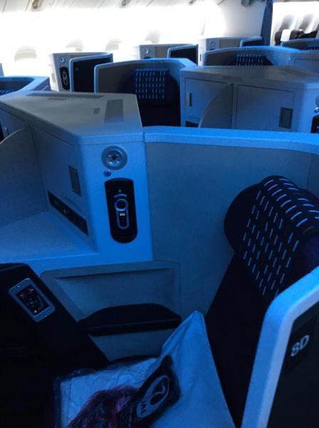 Business Class Review : JL711(NRT – SIN)