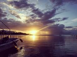 Sunset in Honduras !