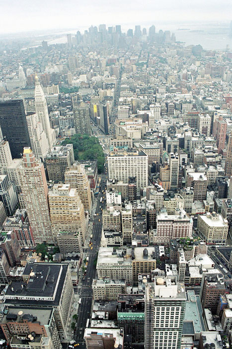 Haut Empire State Builing