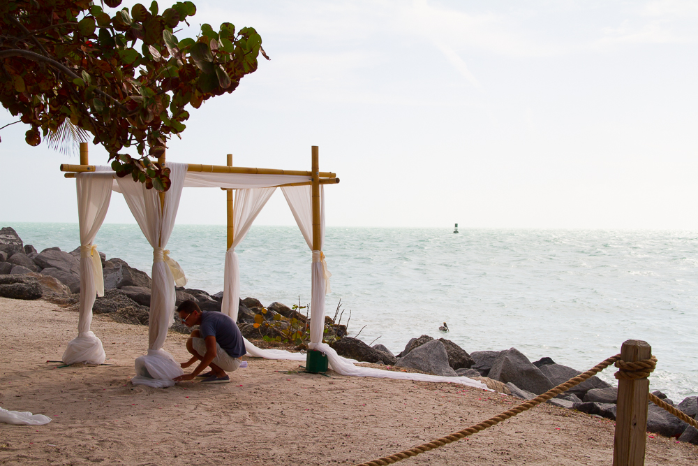 Fort Zachary Taylor Historic State Park Key West Mariage