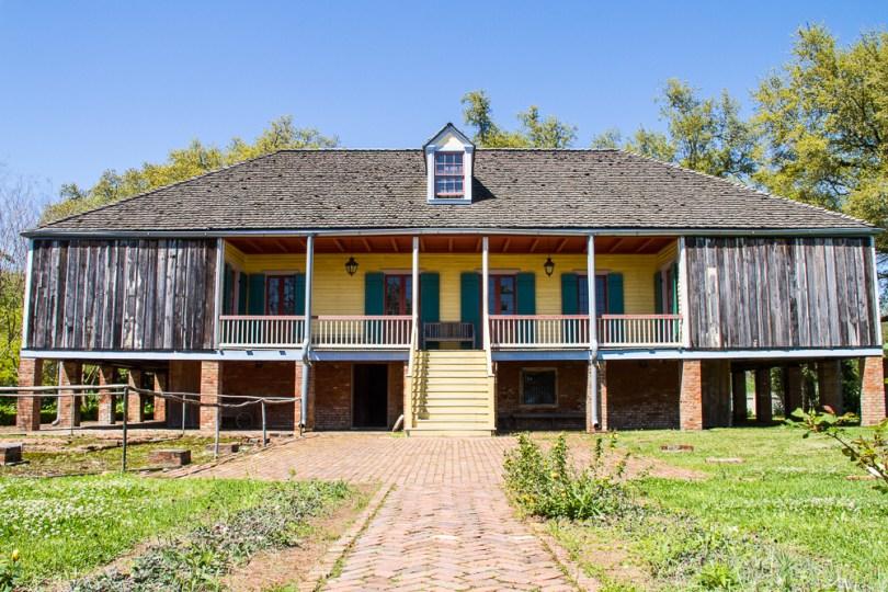 Arrière maison Laura Plantation Vieux Sud