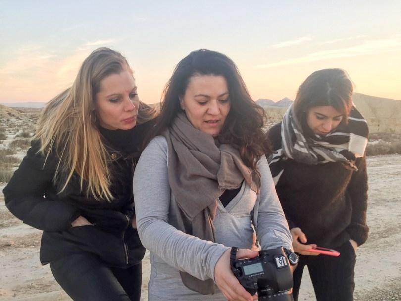 Bardenas Reales gossip girls