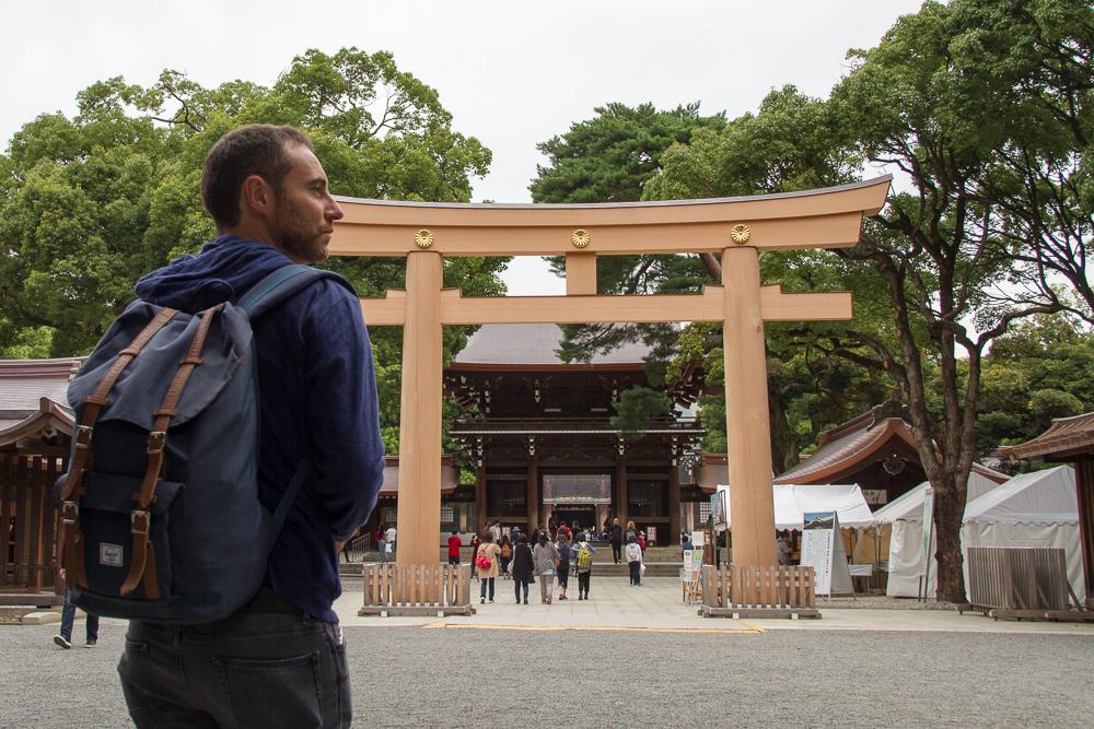 temple meiji-jingu tokyo