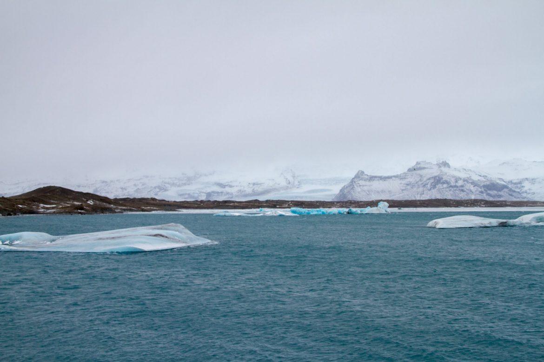 Les icebergs de Jökulsárlon