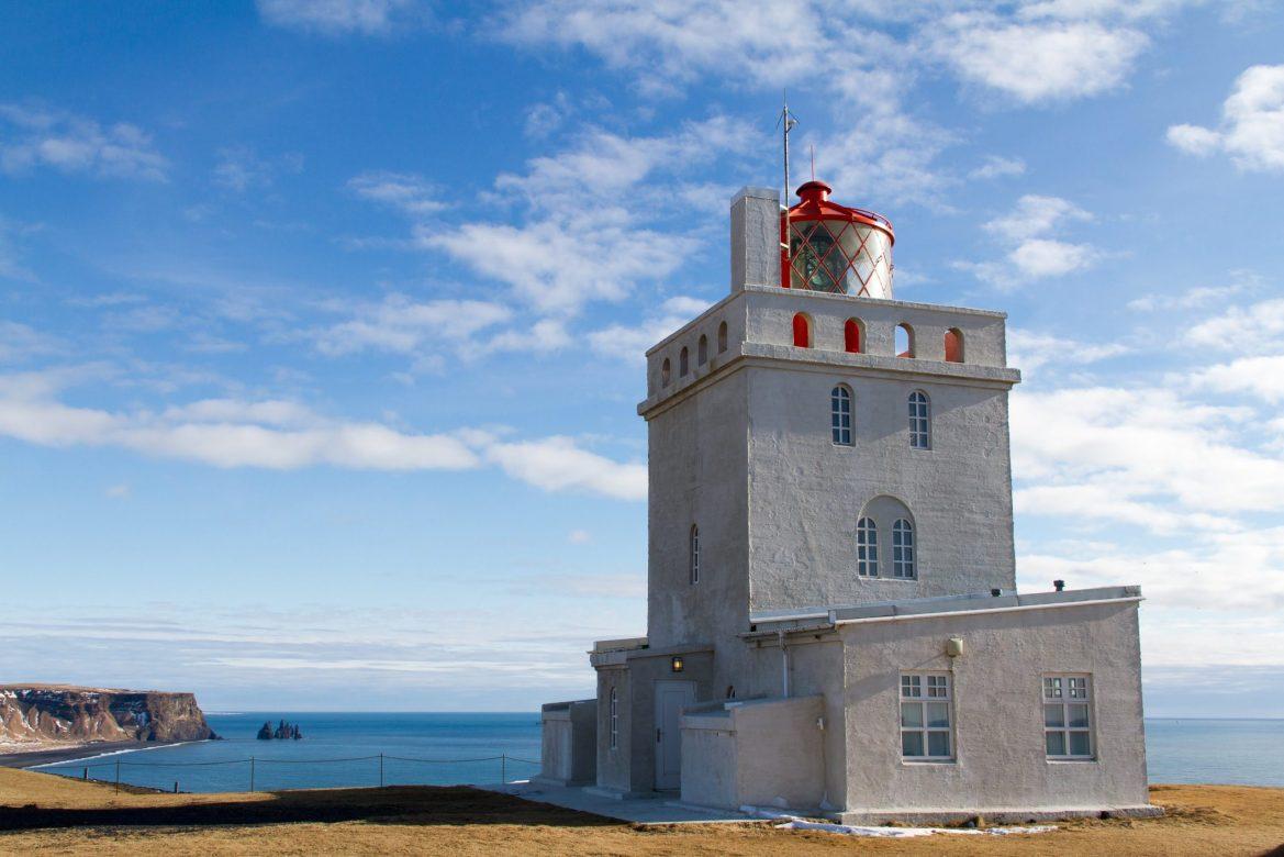 phare Dyrhólaey Islande