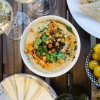 Houmous libanais (crème de pois chiches au sésame)
