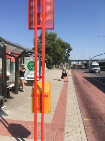 Voyager entre Bratislava et Vienne