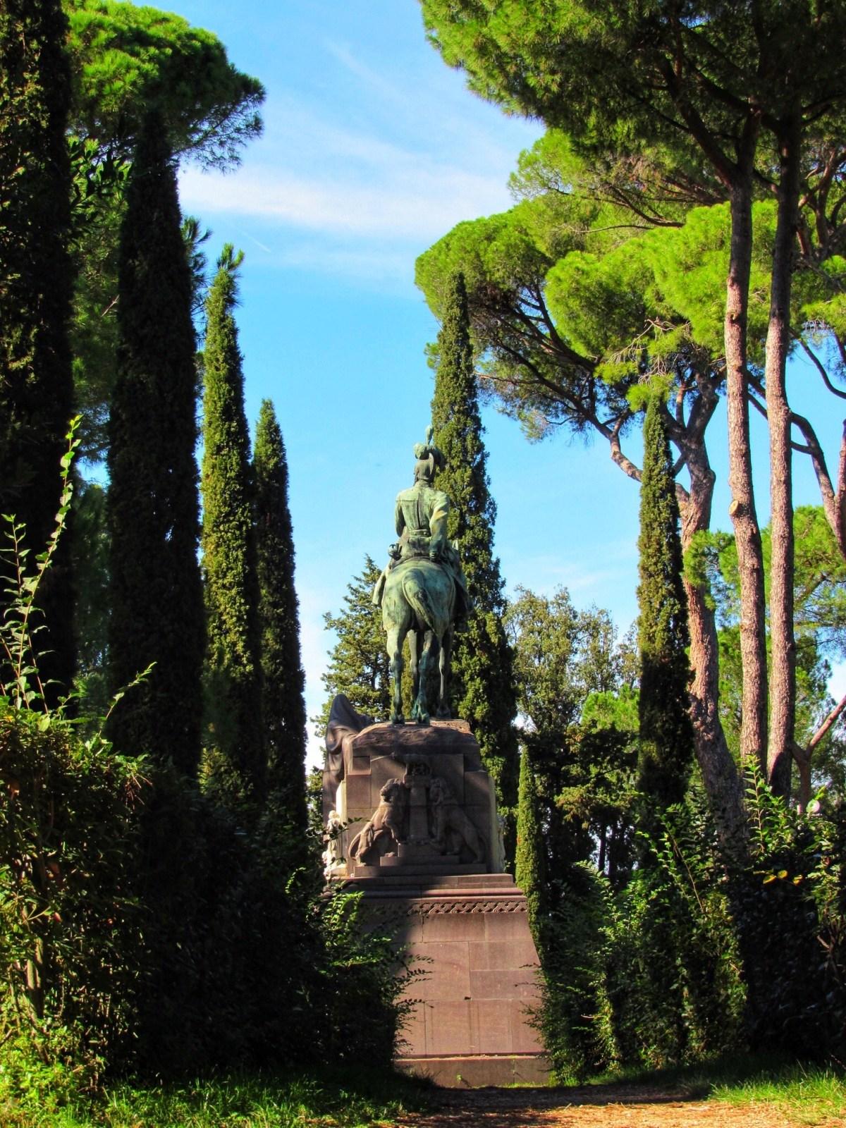Jardins de la villa borghese - Rome